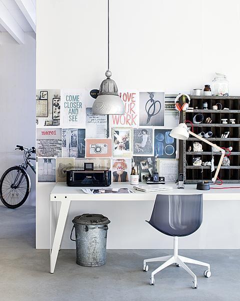 Inspirationen Wanddekoration Arbeitsplatz Stuhl Bilder
