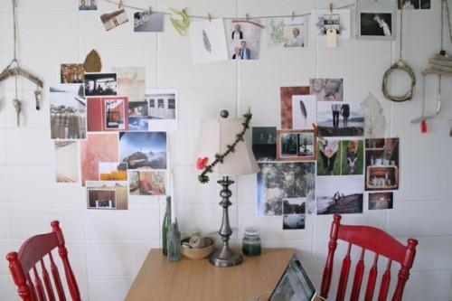 Inspirationen zur Wanddekoration Esszimmer Küche Lampe