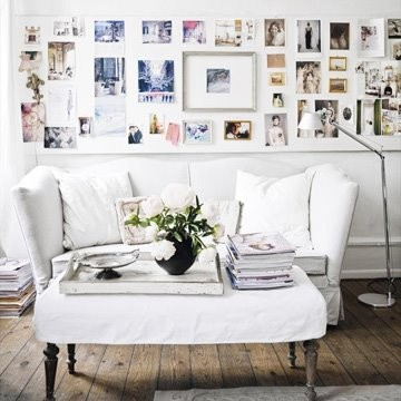 Inspirationen Wanddekoration Wohnzimmer Sofa Tisch