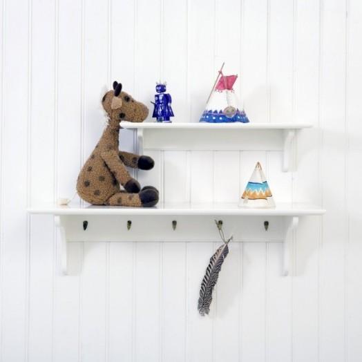 Interessante Designs Kinderzimmer Mädchen Wandhaken Regal