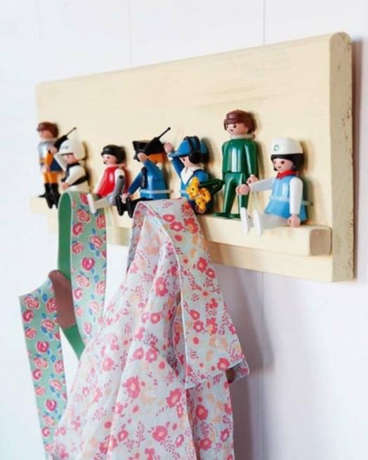 Interessante Designs Kinderzimmer-Wandhaken Dekoration Lego