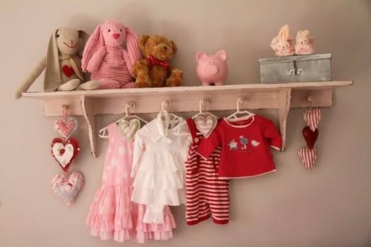 Interessante Designs Kleinkinderzimmer Mädchen Wandhaken Dekoration
