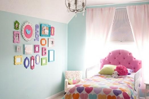 Kleinkinderzimmer Ideen Mädchen Bettwäsche Bett Sessel