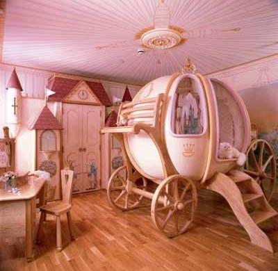 Kinderzimmer ideen für mädchen prinzessin  Coole Kleinkinderzimmer-Ideen für Mädchen