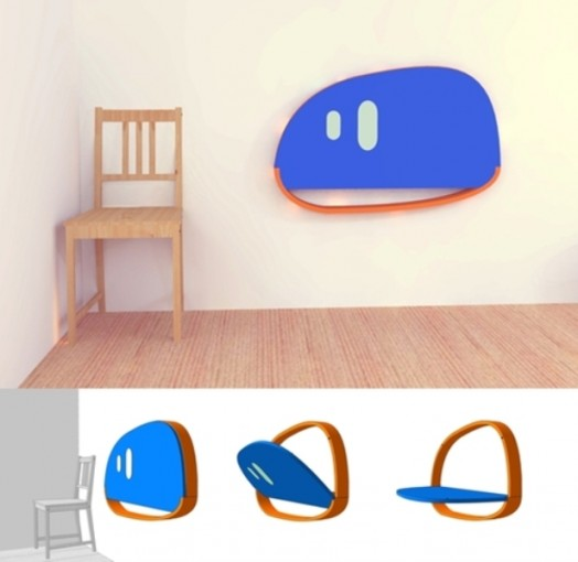 Komfortable originelle Kinder-Schreibtische cooles Design