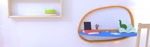 Originelle Kinder-Schreibtische – komfortables und modernes Design