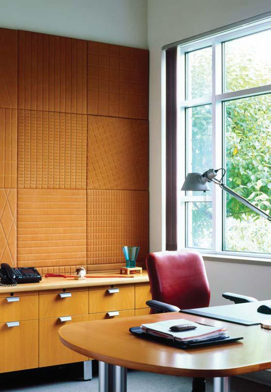 Lederstoffe Interieur-Gestaltungen Spinneybeck Büro Arbeitsplatz