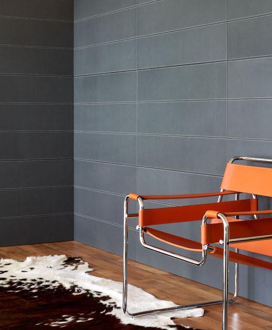 Lederstoffe Interieur-Gestaltungen Spinneybeck Stuhl Teppich