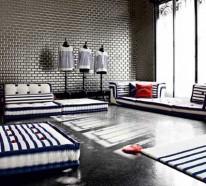 Nautisches Wohnzimmer-Design von Roche Bobois