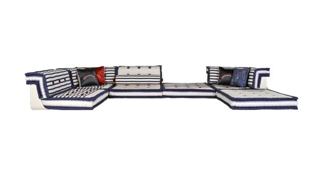 Nautisches Wohnzimmer Roche Bobois modernes Design