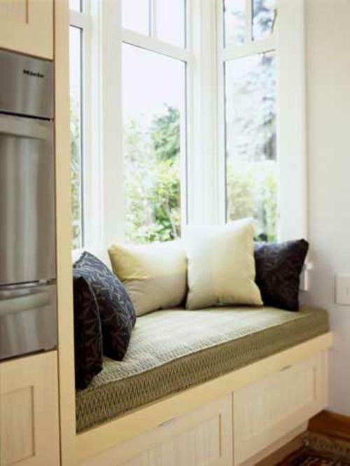 sitzbank unter fenster selber bauen wohn design. Black Bedroom Furniture Sets. Home Design Ideas