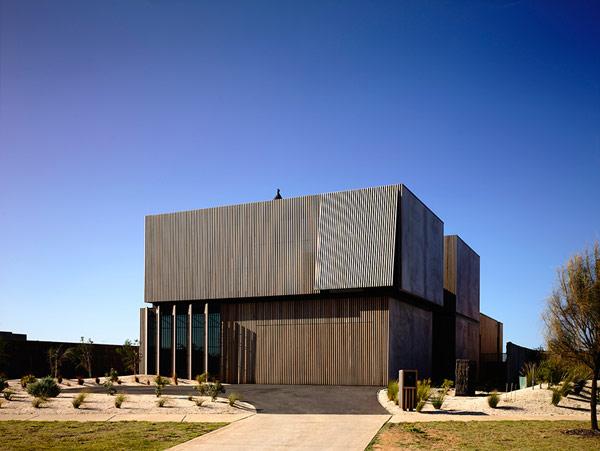 Robustes küstliches Anwesen Australien Architektur Design