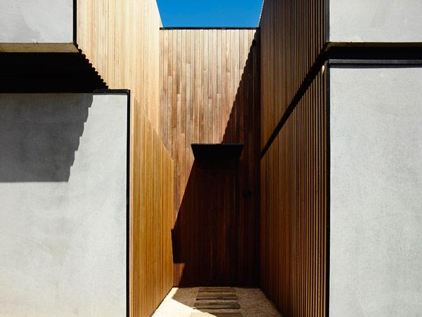 Robustes küstliches Residenz Australien Eingang Design
