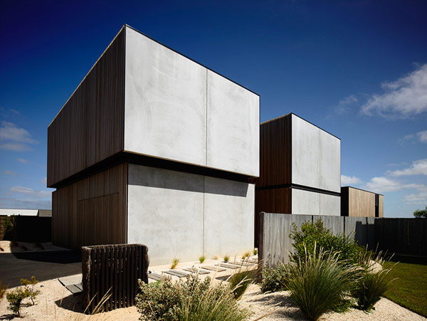 Robustes küstliches Anwesen Australien Garten Design