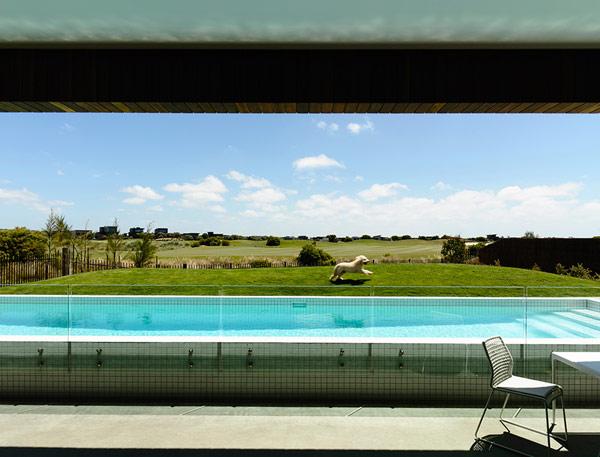 Robustes küstliches Residenz Australien Schwimmbad Design