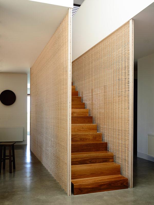 Robustes küstliches Anwesen Australien Treppe Holz