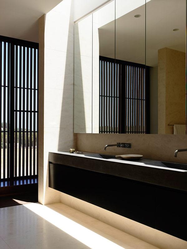 Robustes küstliches Residenz Australien Waschbecken Badezimmer