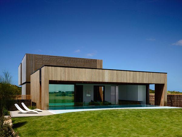 Robustes küstliches Anwesen  Australien coole Architektur