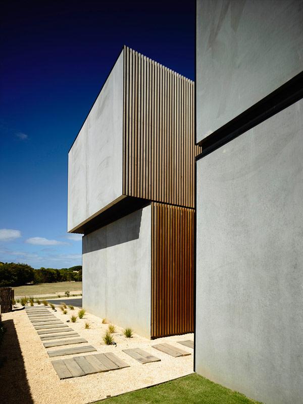 Robustes küstliches Residenz Australien fantastische Architektur