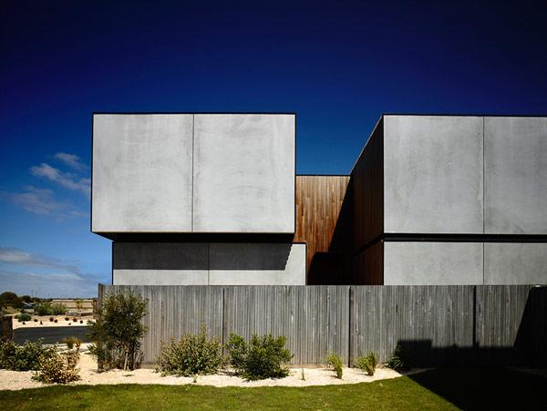 Robustes küstliches Anwesen Australien minimalistische Architektur