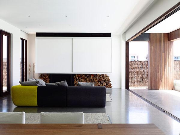 Robustes küstliches Anwesen Australien tolles Wohnzimmer