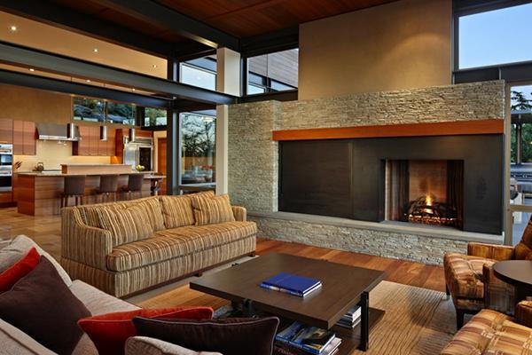 Romantisches und entspannendes anwesen design - Romantisches wohnzimmer ...