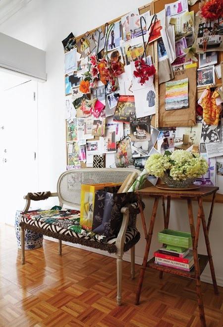 Rustikales Wohnzimmer Design Inspirationen Wanddekoration