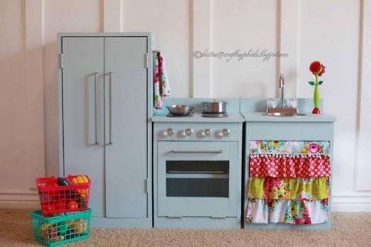 Schöne Gestaltungsideen Kinderzimmer Spielplatz Küche