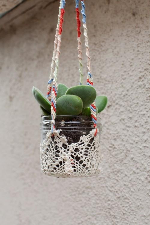 Selbstgemacht Ideen Fensterhängepflanzen Garten Dekor Design