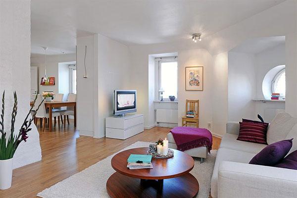Wohnzimmer-Designs hypnotisierendem Effekt Interieur