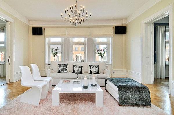 Wohnzimmer-Designs hypnotisierendem Effekt Kaffeetisch