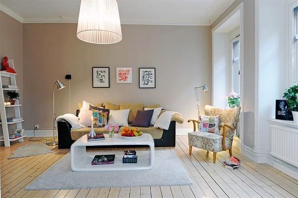 Wohnzimmer-Designs hypnotisierendem Effekt fantastisches Interieur