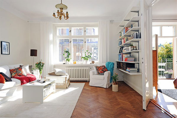 Skandinavische Wohnzimmer Designs Mit Einem Hypnotisierendem Effekt