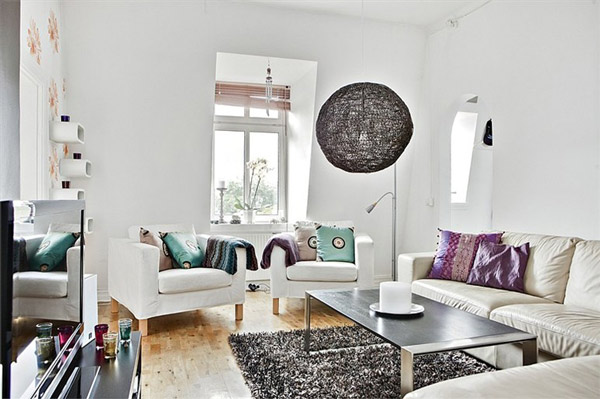 Softe starke Wohnzimmer-Ausstattungen toller Kaffeetisch