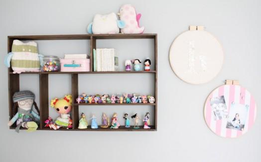 Spielzeugregal Kinder Spielzeuge Spielfiguren Wanddekoration