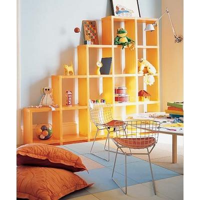 Spielzeugregal-Kinder Spielzeuge Spielplatz Kissen Stühlen