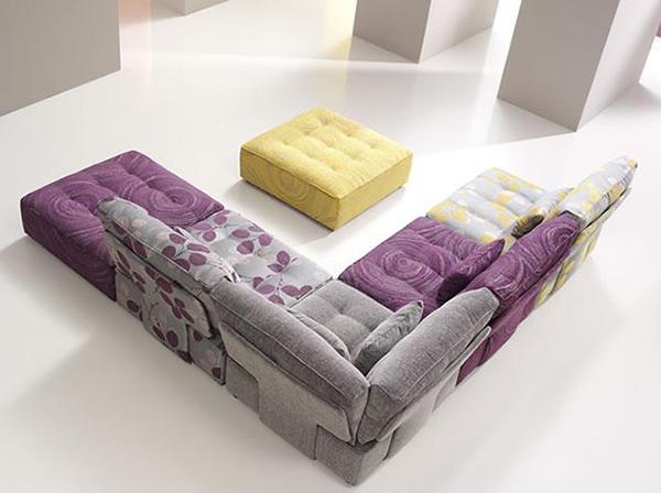 Tiefsitz-Ideen Möbeln Wohnzimmer Fama Ecksofa Design