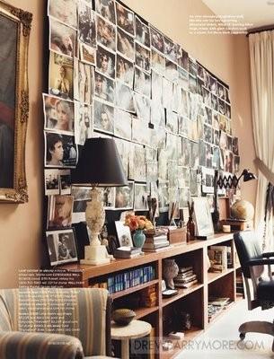 Wanddekoration Ideen Bilder Wohnzimmer Bibliothek