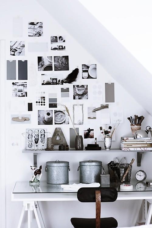 Wanddekoration Ideen Wohnzimmer Arbeitsplatz Bilder Dekor