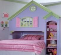 Mädchenbetten wundervolle mädchenbetten in der form häusern