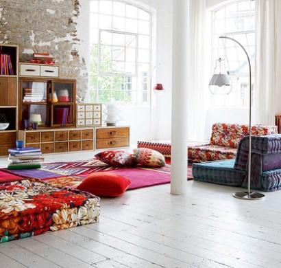 Zwanglose schicke wohnzimmer gestaltung rustikale gem tliche m bel - Gestaltung wohnzimmer ...