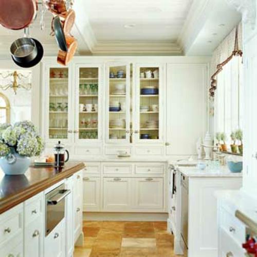 altmodische küchen küchenschränke weiße einrichtung