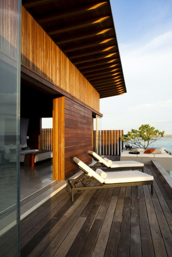 aqua villa außenbereich erholung