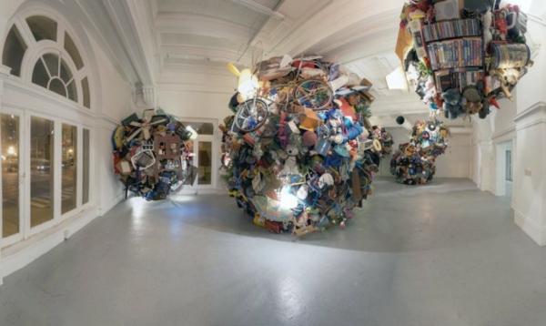 art installation gallerie skulptur originell interessant