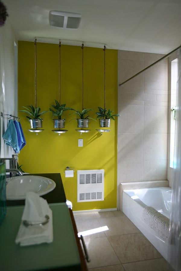 Badezimmer Design Mit Blumen Und Pflanzen Originelle Fruhlingsideen
