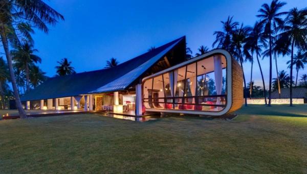 attraktiv vision moder -architektur villa
