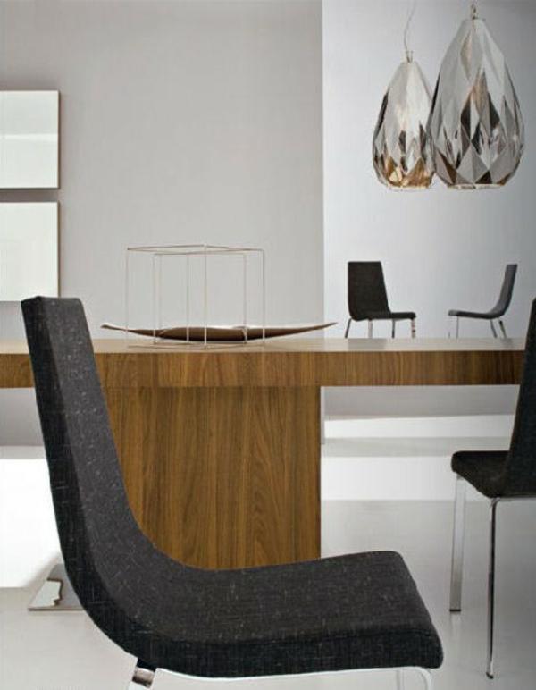 attraktiv wohnzimmer dekoration hängelampen