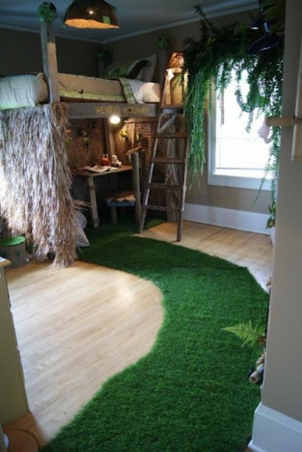 Attraktive Deko Kinderzimmer Holzelemente