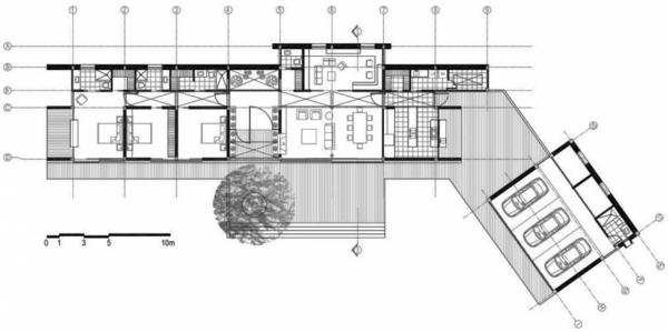 Aussen Architektur Avocado Entwurf Projekt