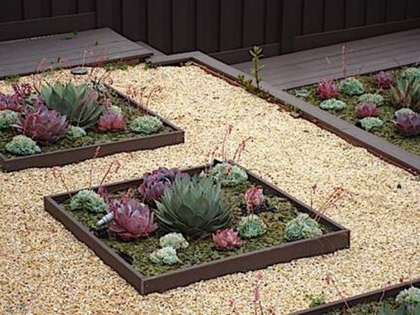 35 Wundervolle Deko Ideen Für Den Garten Mit Sukkulenten | Gartengestaltung  ...
